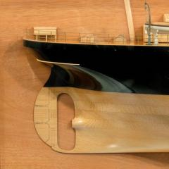 A fine Shipyard half hull model of the NORTHERN LIGHT - 750709