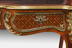 A fine kingwood and marquetry bureau plat in the French taste - 778789