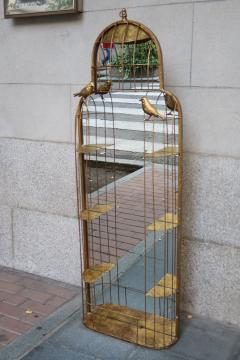 A gilded metal wall mirror - 755700