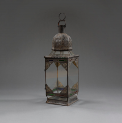 A large Moroccan lantern - 1001231