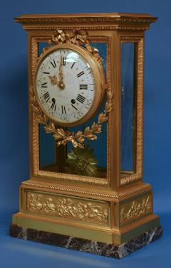 A large and impressive Victorian mantle clock by the eminent firm Raingo Fr res - 1276361