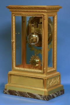 A large and impressive Victorian mantle clock by the eminent firm Raingo Fr res - 1276363
