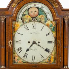A large late Regency mahogany brass inlaid bracket clock by John Foster - 1128331
