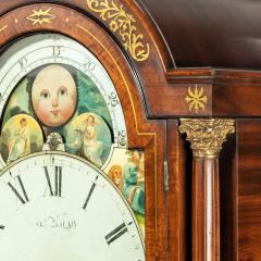 A large late Regency mahogany brass inlaid bracket clock by John Foster - 1128334