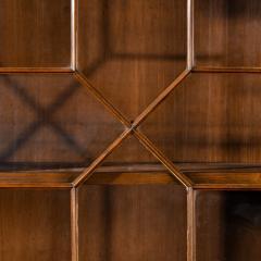A late Regency mahogany breakfront bookcase - 1195750