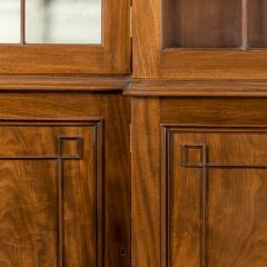 A late Regency mahogany breakfront bookcase - 1195753