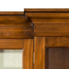 A late Regency mahogany breakfront bookcase - 1195754