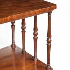 A late Regency mahogany three tier - 802259
