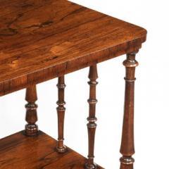 A late Regency mahogany three tier - 802262