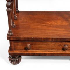 A late Regency mahogany three tier - 802263
