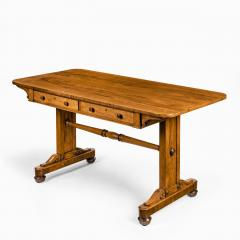 A late Regency rosewood end support table Gillows or Holland and Sons - 1851618