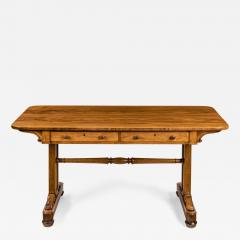 A late Regency rosewood end support table Gillows or Holland and Sons - 1852681