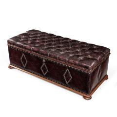 A mahogany box ottoman - 1415714