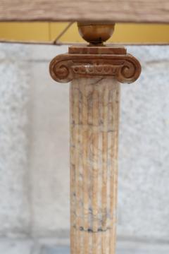 A marble column table lamp Italy XIXth century - 995262