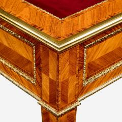 A matched pair of English Kingwood display tables in the French taste - 776547
