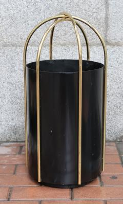 A metal and brass umbrella stand Italy 60 - 763914