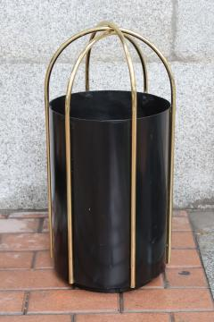 A metal and brass umbrella stand Italy 60 - 763915