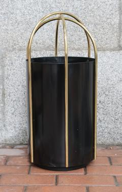 A metal and brass umbrella stand Italy 60 - 763916