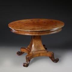 A mid 19th century walnut gueridon table - 923100