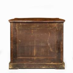 A mid Victorian kingwood serpentine cabinet - 2023666