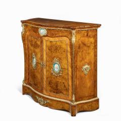 A mid Victorian kingwood serpentine cabinet - 2023667