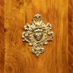 A mid Victorian kingwood serpentine cabinet - 2023671