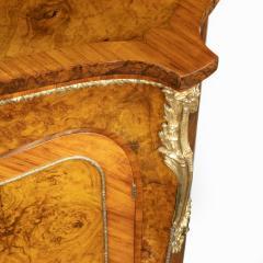 A mid Victorian kingwood serpentine cabinet - 2023673