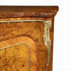 A mid Victorian kingwood serpentine cabinet - 2023676