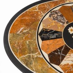 A mid Victorian walnut and pietra dura table - 1847700