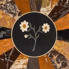 A mid Victorian walnut and pietra dura table - 1847701