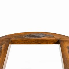A mid Victorian walnut and pietra dura table - 1847702
