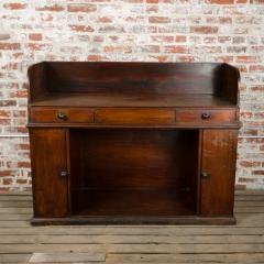 A nineteenth century English mahogany kneehole desk - 2128814