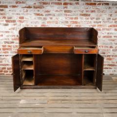A nineteenth century English mahogany kneehole desk - 2128816