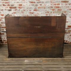A nineteenth century English mahogany kneehole desk - 2128817