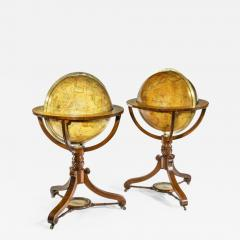A pair of 20 inch floor globes by Newton and Sons - 1953624