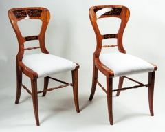 A pair of Biedermeier side chairs - 1185412