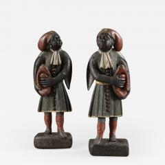 A pair of Dutch East Indian figures - 924962