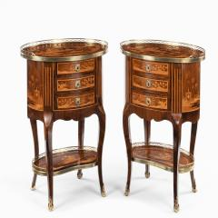 A pair of French rosewood occasional tables - 1793616