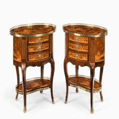 A pair of French rosewood occasional tables - 1793617