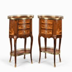 A pair of French rosewood occasional tables - 1793618