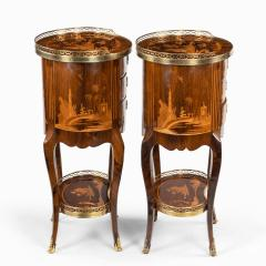A pair of French rosewood occasional tables - 1793619