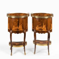 A pair of French rosewood occasional tables - 1793620
