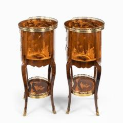 A pair of French rosewood occasional tables - 1793621