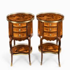 A pair of French rosewood occasional tables - 1793622