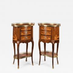 A pair of French rosewood occasional tables - 1798089