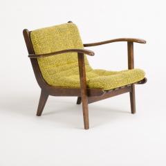 A pair of Mid Century Italian oak armchairs circa 1945 - 1660982