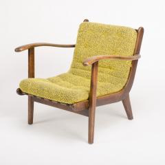 A pair of Mid Century Italian oak armchairs circa 1945 - 1660990