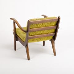 A pair of Mid Century Italian oak armchairs circa 1945 - 1661020