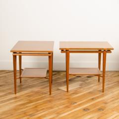 A pair of Mid Century Modern side tables designed by T H Robsjohn Gibbings  - 2055362