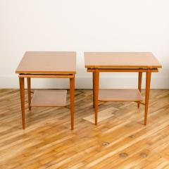 A pair of Mid Century Modern side tables designed by T H Robsjohn Gibbings  - 2055363